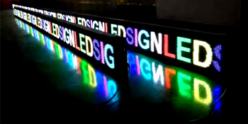 Scrolling LED Multi Color